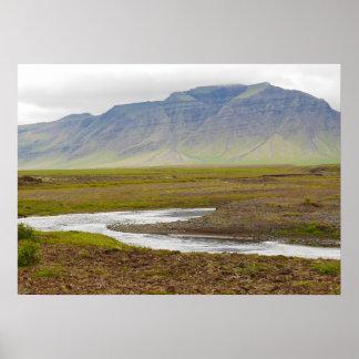 Island-Plakat Poster
