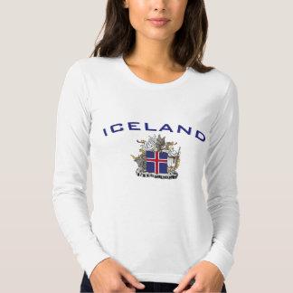 Island-Wappen Shirts