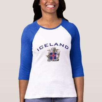 Island-Wappen T-Shirt
