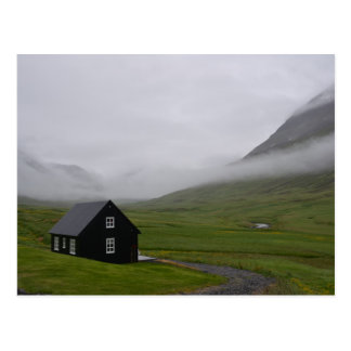 Isländische Hütte Postkarte