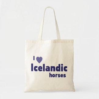 Isländische Pferde Tragetasche
