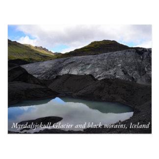 Isländischer Gletscher Postkarte