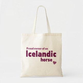 Isländisches Pferd Tragetasche