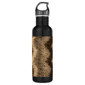 Isländisches Wollemuster Trinkflasche