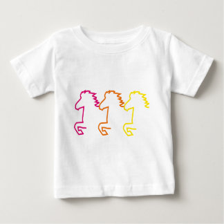 Islandpferd Baby T-shirt