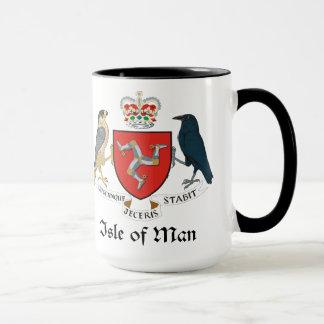 ISLE OF MAN - Emblem/Flagge/Symbol/Wappen Tasse