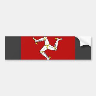 Isle of Man-Flagge Autoaufkleber