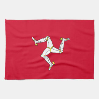 Isle of Man-Flagge Küchentuch