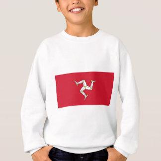 Isle of Man-Flagge - Manx Flagge - Brattagh Vannin Sweatshirt