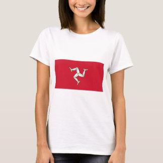 Isle of Man-Flagge - Manx Flagge - Brattagh Vannin T-Shirt