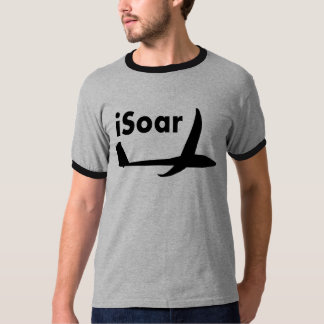 iSoar Schwarzes auf Weiß Tshirt
