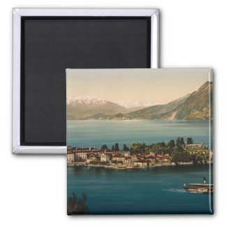 Isola Bella III, See Maggiore, Piemont, Italien Quadratischer Magnet