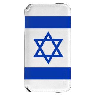 Israel-Flagge Incipio Watson™ iPhone 6 Geldbörsen Hülle