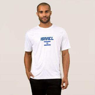 Israel-Flagge Sport-Tek Konkurrenten-T - Shirt