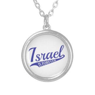 Israel ist Forever Versilberte Kette