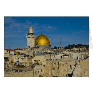 Israel, Jerusalem, Haube des Felsens Karte