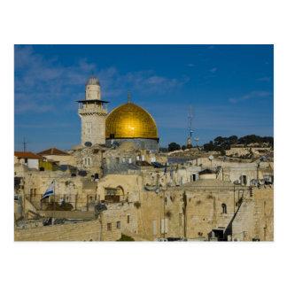 Israel, Jerusalem, Haube des Felsens Postkarte