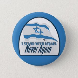 ISRAEL-Knopf Runder Button 5,1 Cm