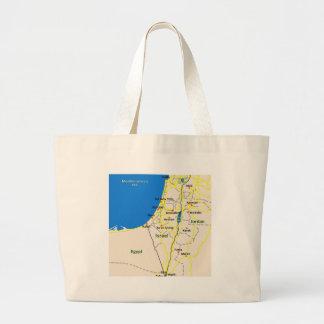 Israel map.JPG Jumbo Stoffbeutel