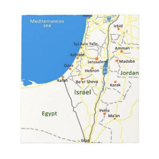 Israel map.JPG Notizblock