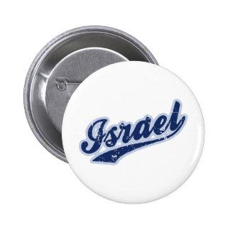 Israel Runder Button 5,7 Cm