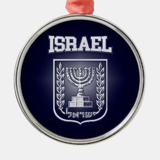 Israel-Wappen Silbernes Ornament