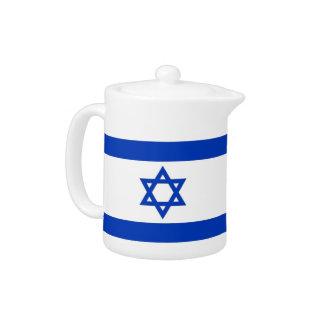 Israelian Flaggen-Teekanne