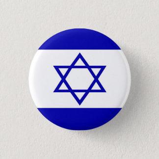 Israelisches Flaggen-Button Runder Button 2,5 Cm