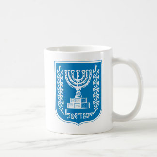 Israels Wappen Tasse