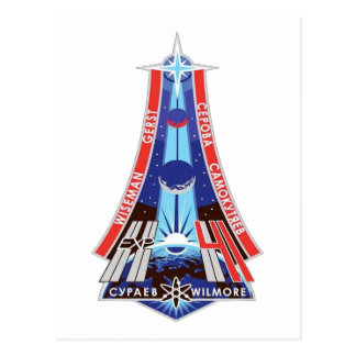 Iss-Crews:  Expedition 41 Postkarte