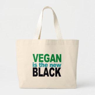 Ist das neue Schwarze vegan Jumbo Stoffbeutel