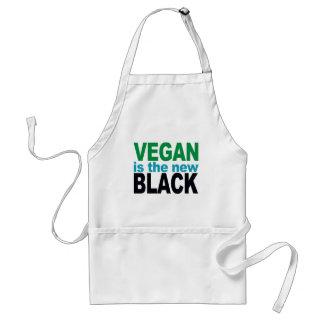 Ist das neue Schwarze vegan Schürze
