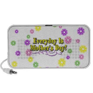 Ist der Tag der Mutter täglich! Blumen Mini Speaker
