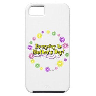 Ist der Tag der Mutter täglich! Blumen-Ring iPhone 5 Schutzhüllen