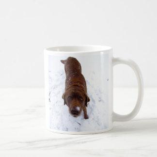 Ist die heiße Schokolade? Kaffeetasse