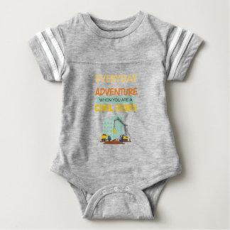 Ist ein lustiger Abenteuer-ziviler Ingenieur Baby Strampler