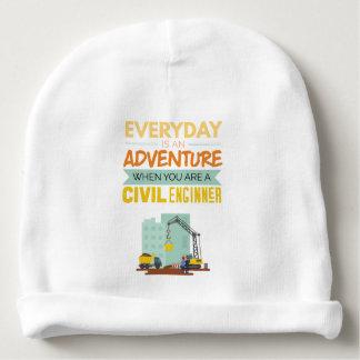 Ist ein lustiger Abenteuer-ziviler Ingenieur Babymütze