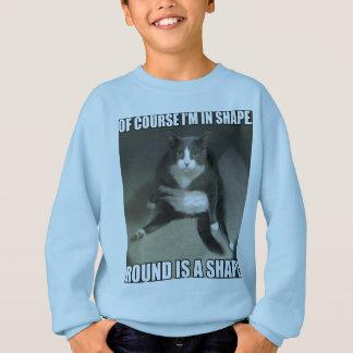 Ist eine Form rund Sweatshirt