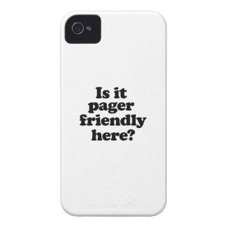 Ist es der Pager, der hier freundlich ist iPhone 4 Case-Mate Hüllen
