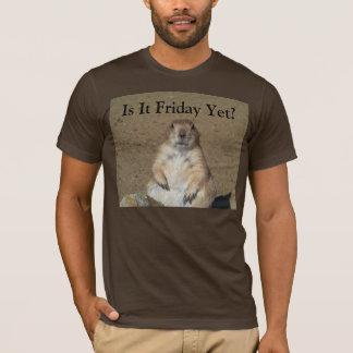 Ist es Freitag schon? Murmeltier-T - Shirt
