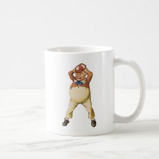 Ist es Tweedledee oder Tweedledum? Kaffeetasse