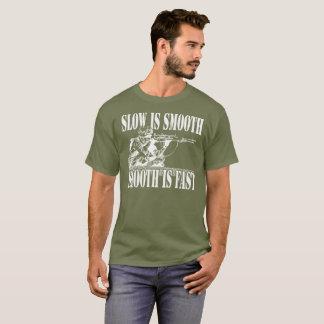 IST GLATTER SCHARFSCHÜTZE-GANG LANGSAM T-Shirt