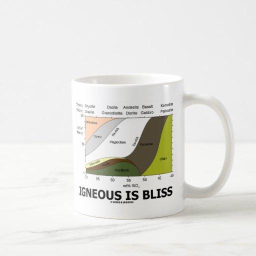 Ist Glück Eruptiv (Geologie-Ignoranz ist Glück) Tasse