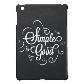 Ist gutes motivierend Lebenzitat einfach iPad Mini Hülle