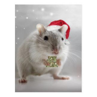 Ist hier ein weniges Weihnachtsgeschenk für Sie xx Postkarte