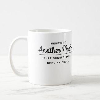Ist hier zu einer anderen Sitzung Kaffeetasse