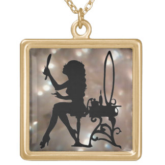 Ist Liebe-Retro Vintage antike Perlen hübsch Halskette