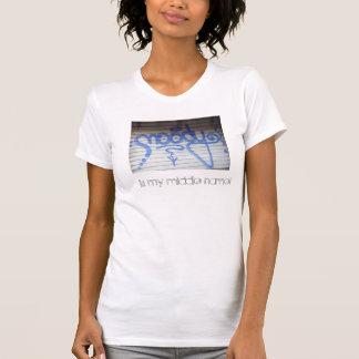 , ist mein zweiter Vorname schwermütig! T-Shirt