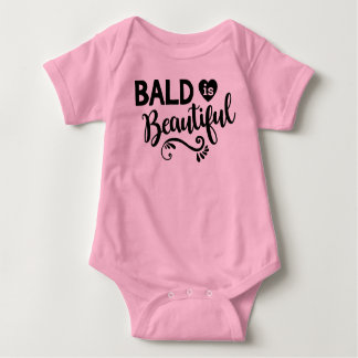 Ist schöner rosa Babykörper-Anzug kahl Baby Strampler