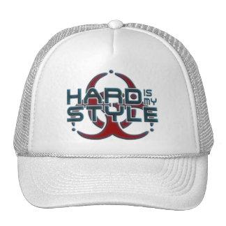 Ist stark meine Art 3D hardstyle Musik Baseball Mützen